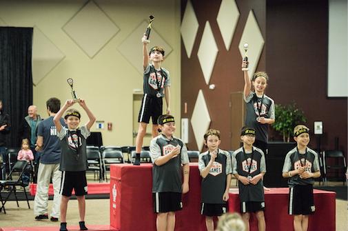Inaugural Indiana State Ninja Games Draws More Than 500 Athletes & Spectators